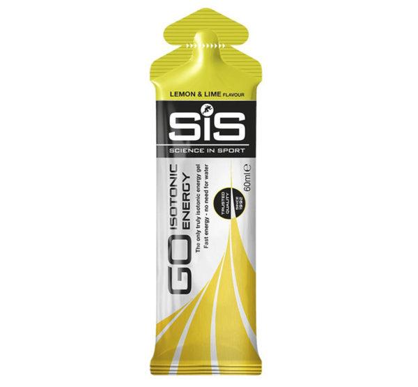 Гель изотонический углеводный, вкус Лимон и Лайм, 60 мл